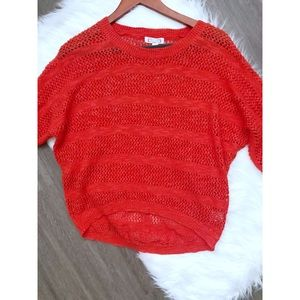 Anthropologie Crewneck Knit Sweater XS